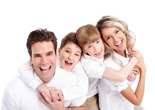 Áo thun trơn gia đình
