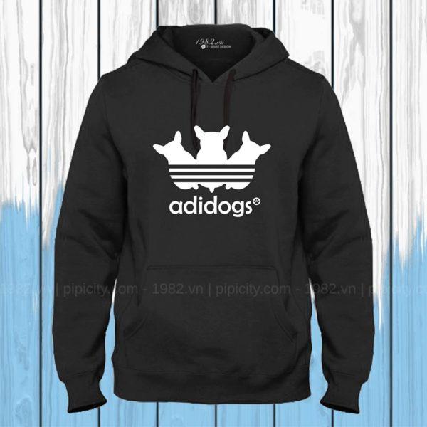 ao thun hoodie adidogs