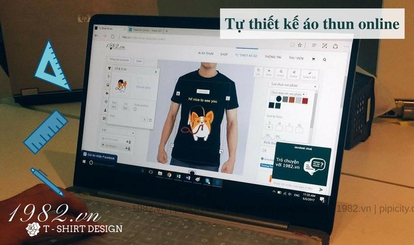 tự thiết kế áo thun online