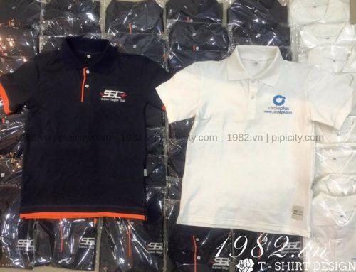 Áo thun đồng phục cao cấp, chất lượng tại xưởng may công ty