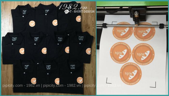 mẫu áo thun quán ăn